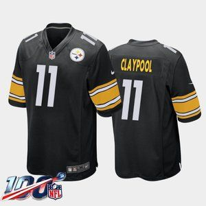 Pittsburgh Steelers Chase Claypool Black Jersey